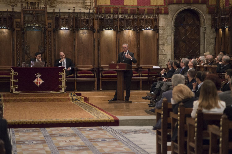 Discurso de apertura a cargo del Sr. Anton Costas