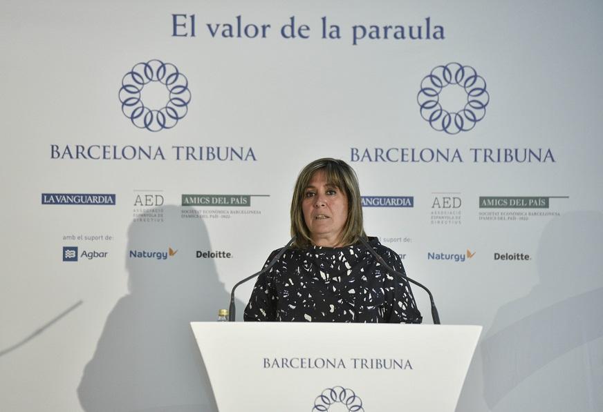 Barcelona Tribuna con Núria Marín