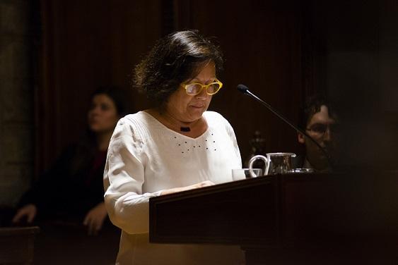 Rosa Rosell, presidenta del Casal dels Infants, recull el premi Llegat Valldejuli 2019