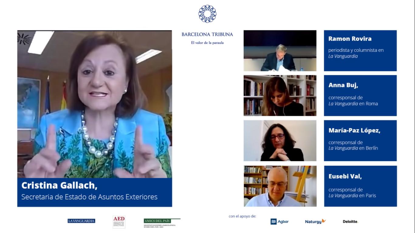 Barcelona Tribuna online amb Cristina Gallach
