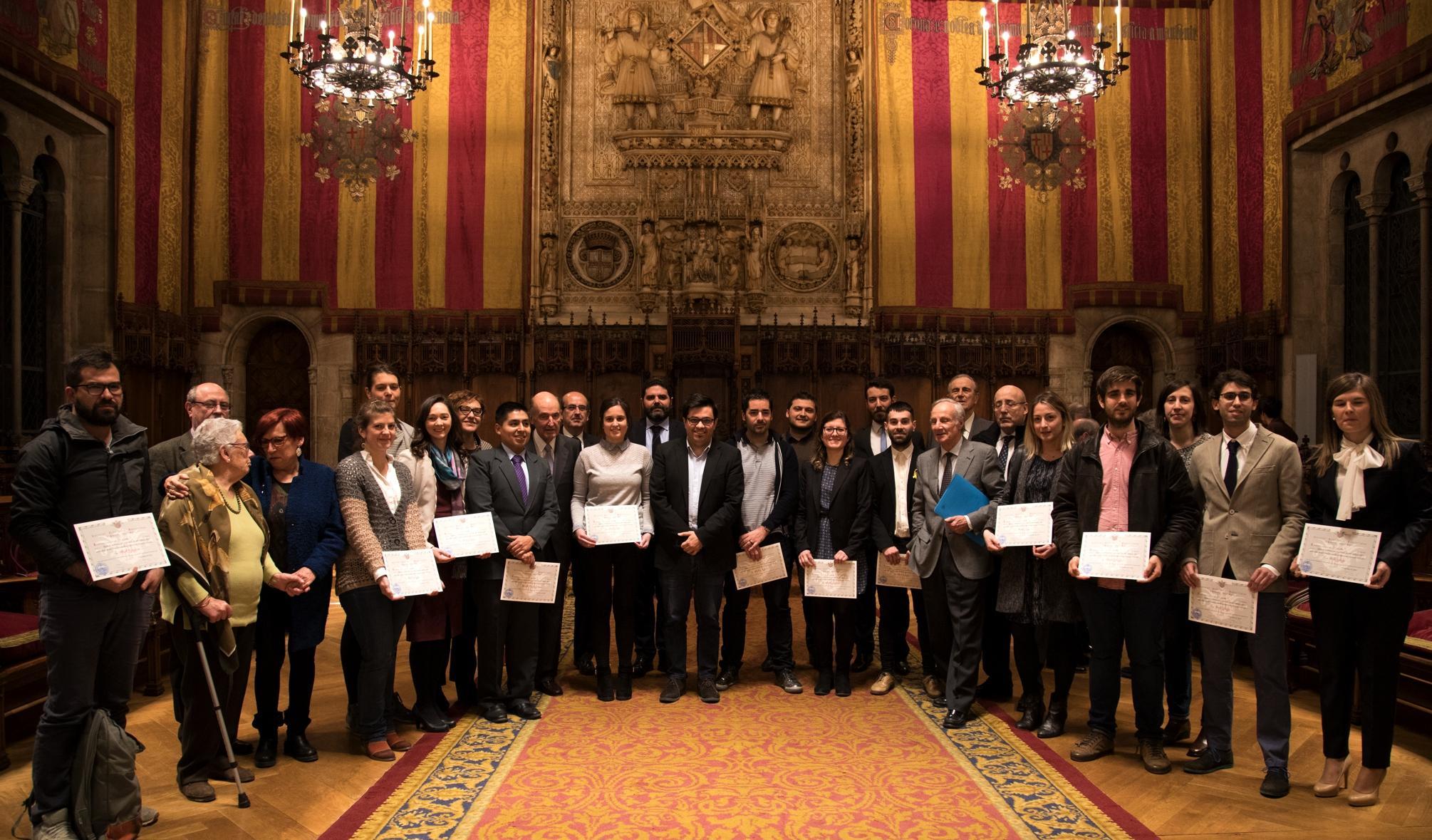 La SEBAP entrega 17 becas de mobilidad a investigadores de universidades catalanas y centros de investigación