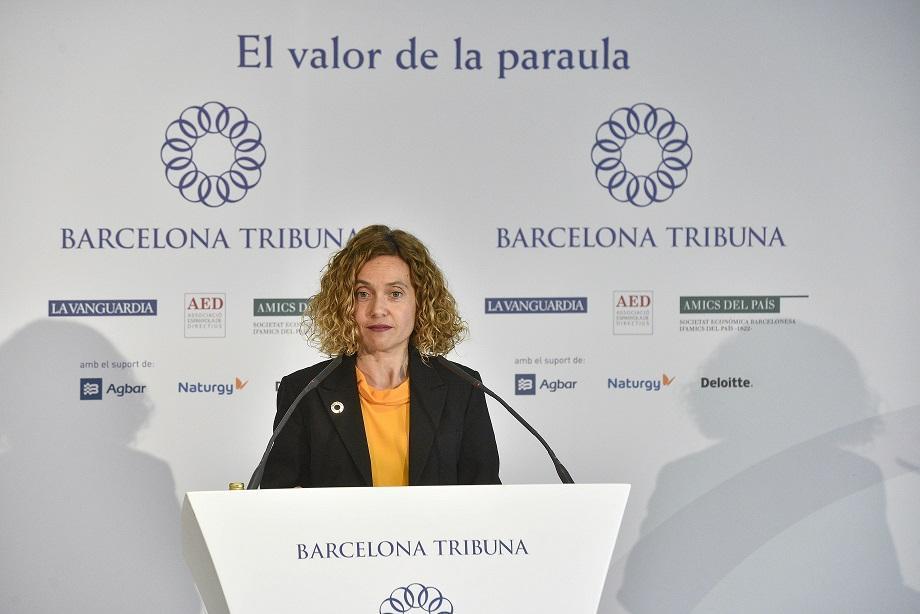Meritxell Batet en Barcelona Tribuna