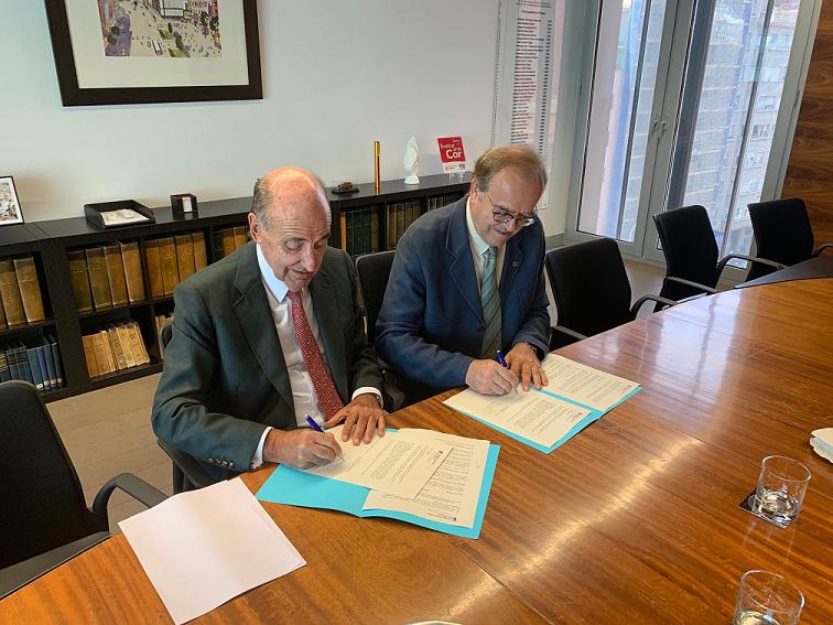 Amics del País y el Colegio de Economistas de Cataluña firman un convenio de colaboración