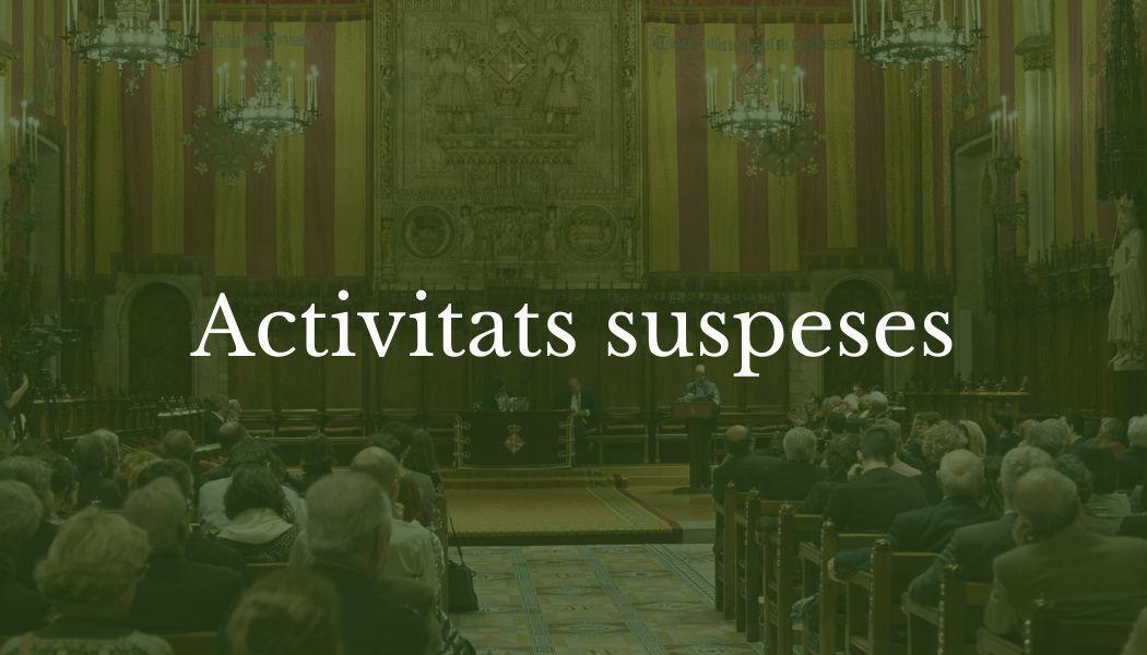 Amics del País cancel.la les activitats