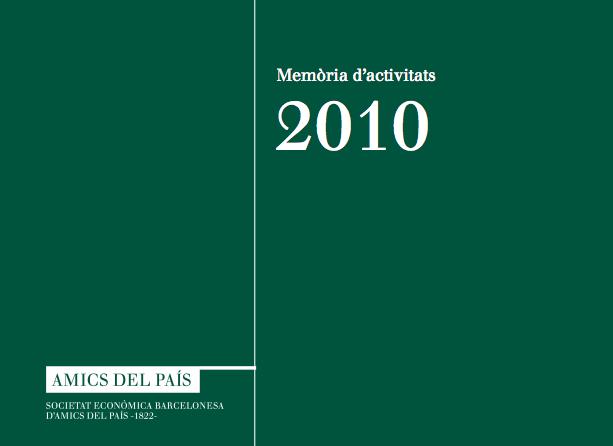 Memòria anual 2010
