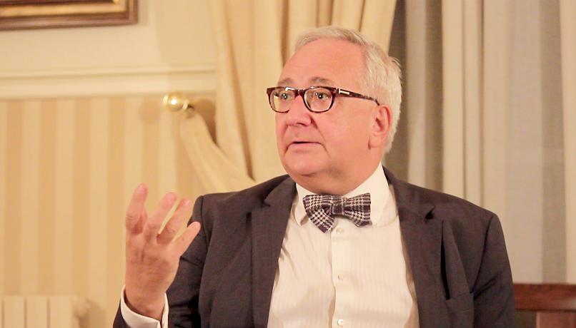 Carles Duarte conversa amb Joan-Pere Viladecans