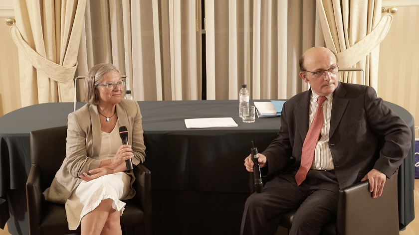 Debat sobre neurolingüística amb Eulàlia Rubert i Antoni Guerrero