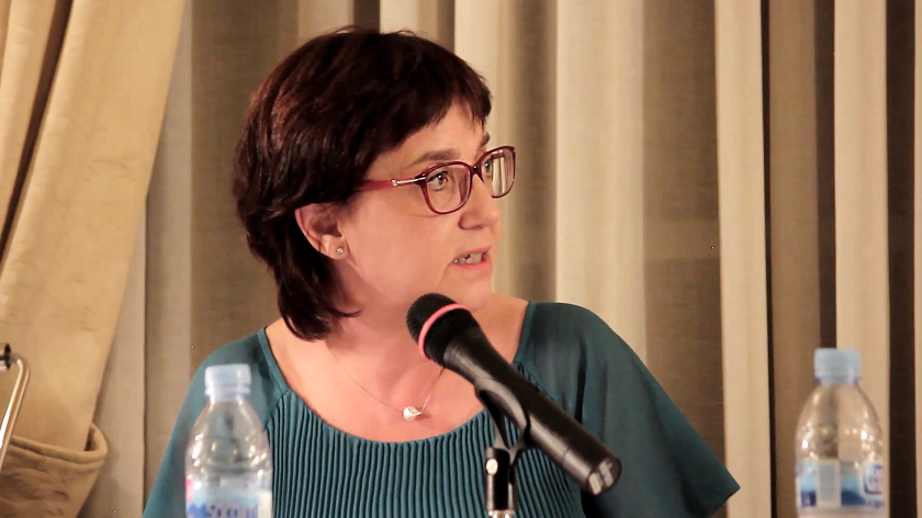 Marta Gili al #debatSebap Art i museus al segle XXI: mirada pròpia, perspectiva internacional?