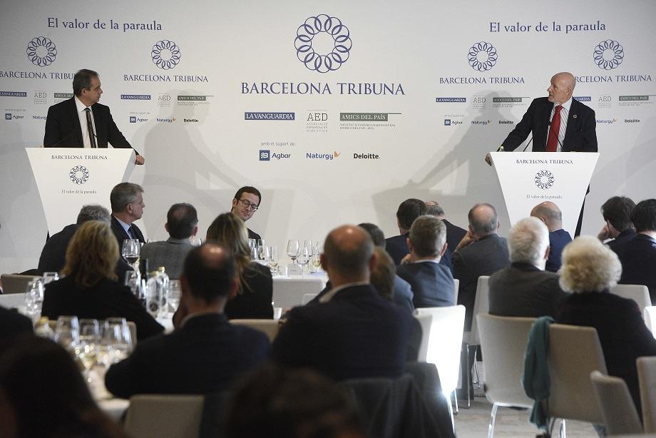 Barcelona Tribuna amb Carlos Grau